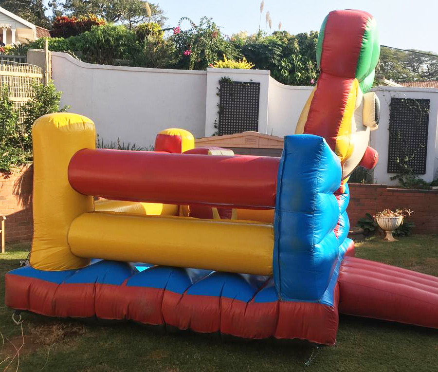 clown jumping castle