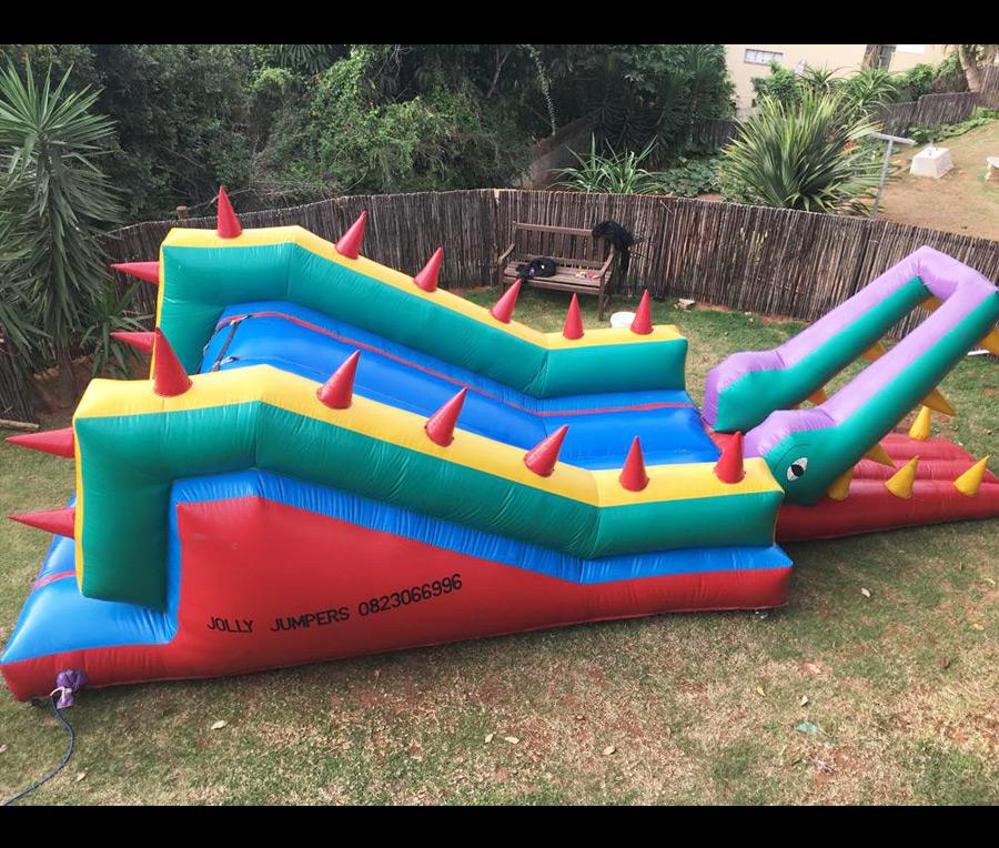 croc jumping castle