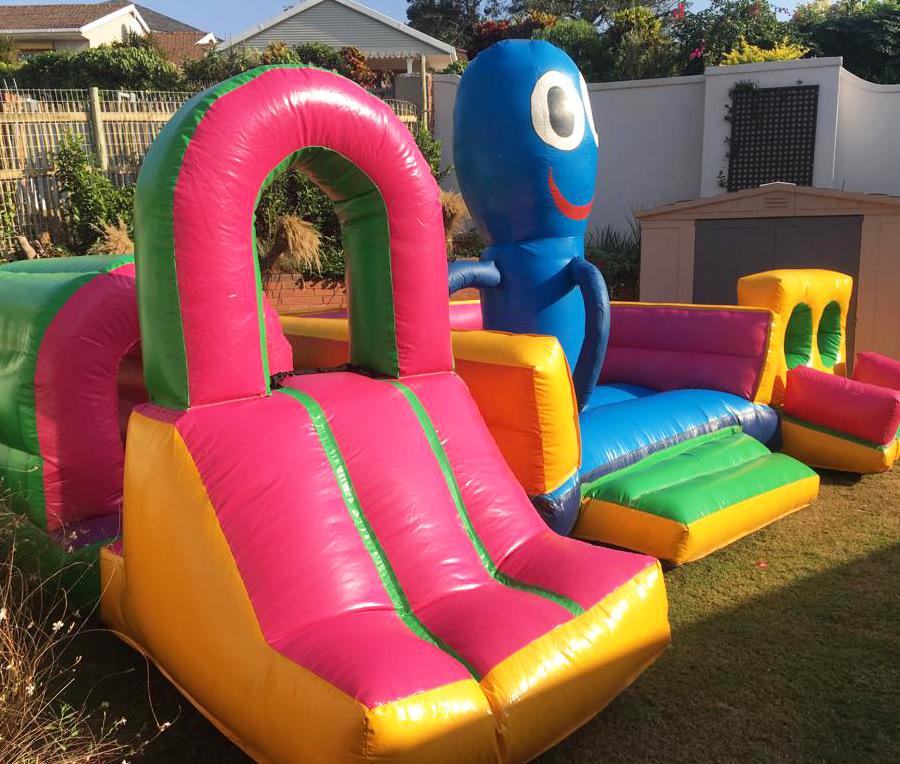 octopus jumping castle